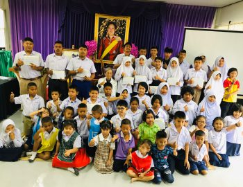 As the Children's day 2020 in Thailand, the second Saturday of the first month of year, TCFF had a chance to support the children.